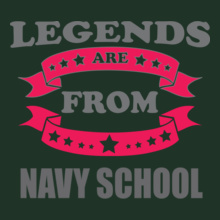 Alumni Reunion legends-from-navy-school T-Shirt