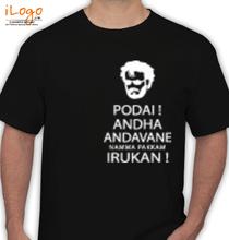 Rajinikanth The-Superstar-Rajinikanth T-Shirt