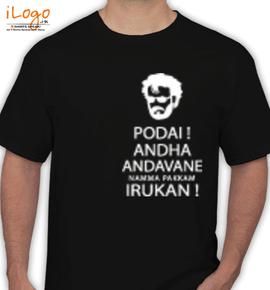 The Superstar Rajinikanth - T-Shirt