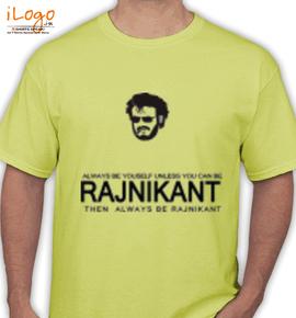 Superstar The Rajinikant - T-Shirt