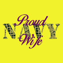 Navy Wife navy-wife-with-texture T-Shirt