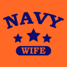 Navy Wife navy-wife-in-royal-blue. T-Shirt