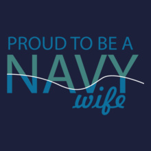 Navy Wife proud-to-b-navy-wife T-Shirt