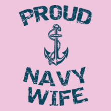 Navy Wife anchor-with-navy-wife T-Shirt