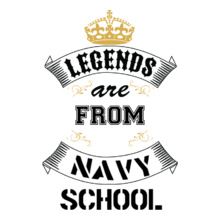 Alumni Reunion legend-are-from-navy-school T-Shirt