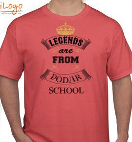 podar school - T-Shirt