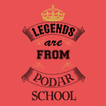 Alumni Reunion podar-school T-Shirt