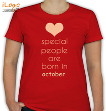 Birthday special-people-born-in-octoberr T-Shirt