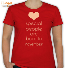 Birthday special-people-born-in-novemberr T-Shirt