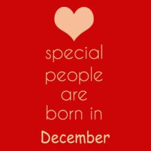 special-people-born-in-december T-Shirt