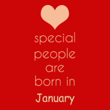 special-people-born-in-january T-Shirt