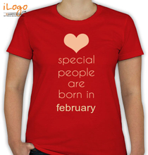Birthday special-people-born-in-february T-Shirt