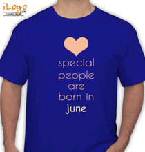 Birthday special-people-born-in-june T-Shirt
