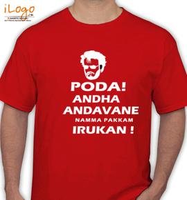 Rajinikanth - T-Shirt