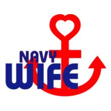 Navy Wife anchor-heart-navy-wife T-Shirt