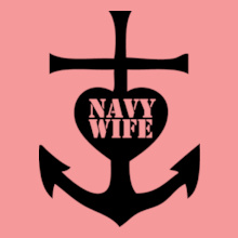 Navy Wife anchor-navy-wife T-Shirt