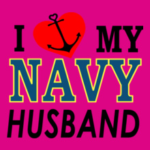 Navy Wife i-love-my-navy-husband T-Shirt