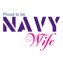 Navy Wife proud-B-navy-wife T-Shirt