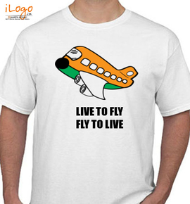 live to fly - T-Shirt