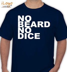 no-beard - T-Shirt