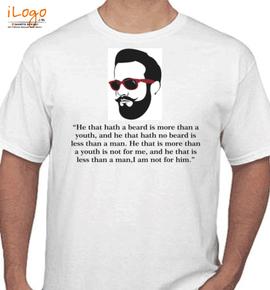 beard-twister - T-Shirt