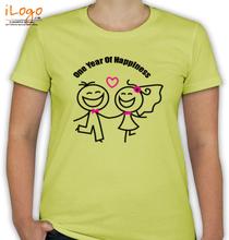 pencil-skech-couple T-Shirt