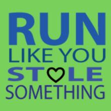 run-like-u-stole-something T-Shirt