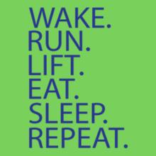 wake-run-sleep T-Shirt