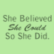 she-belive-she-could-shedid-it T-Shirt