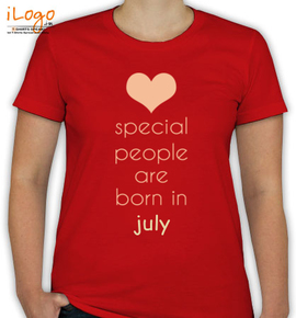 special people born in july - T-Shirt [F]