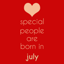 Birthday special-people-born-in-july T-Shirt