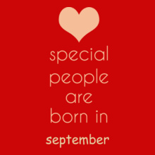 Birthday special-people-born-in-september T-Shirt