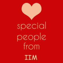 IIM Ranchi special-people-are-from-IIM T-Shirt