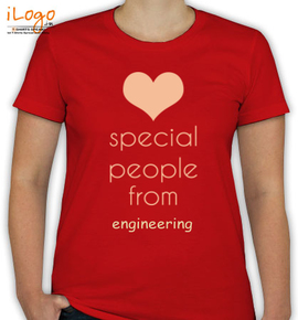 special people are from engineering - T-Shirt [F]