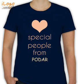 special people are from podar - T-Shirt [F]