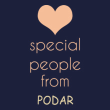 special-people-are-from-podar T-Shirt