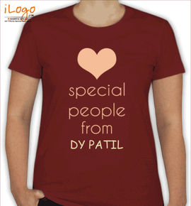 special people are from DY Patil - T-Shirt [F]