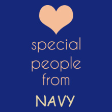 Navy special-people-are-from-navy T-Shirt