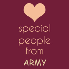 Army special-people-are-from-army T-Shirt