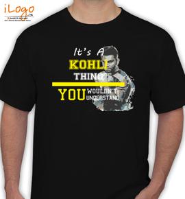 kohli-thing - T-Shirt