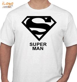 superman hero - T-Shirt