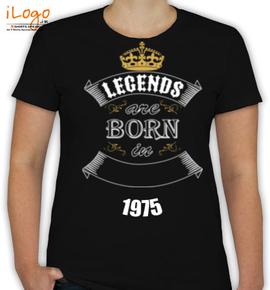 legend born in  - T-Shirt [F]
