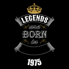 Birthday legend-born-in- T-Shirt