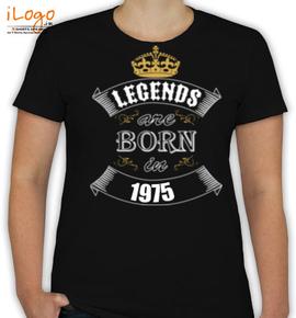 legend born in . - T-Shirt [F]