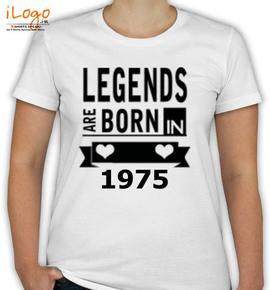 LEGENDS BORn in  - T-Shirt [F]