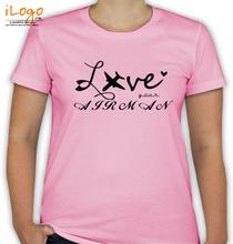 Air Force Wife love-ur-airman T-Shirt