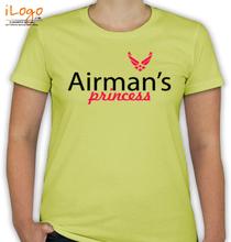 Air Force Wife airman-princessm-prness T-Shirt