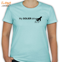 Air Force Wife my-soldier-dra T-Shirt