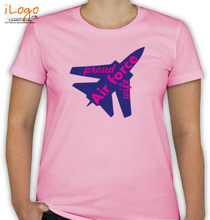Air Force Wife proud-air-force-wife T-Shirt