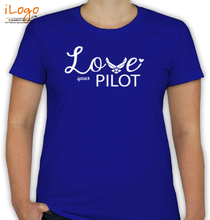 Air Force Wife pillot T-Shirt